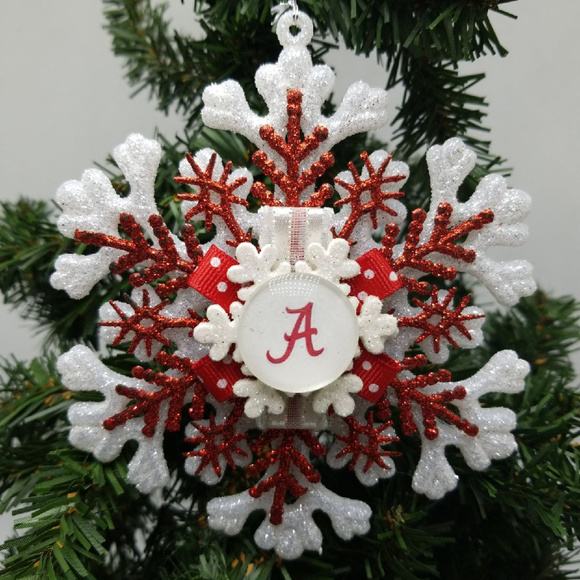 Alabama Christmas.Alabama Christmas Ornament Roll Tide Crimson Tide Nwt
